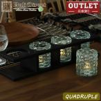 アジアン雑貨キャンドルホルダーモダンレトロバリガラス 4灯z020101a