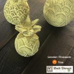 パイナップル 置物 オブジェ アジアン 雑貨 バリ 木製 Sサイズ 1個 Z070824F