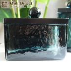 アジアン雑貨キャニスターガラス製ブラックLサイズZ220302F