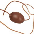 Yahoo!Lange Staarten玩具 Pirates of the Caribbean コスプレ Pirate Of The Caribbean Captain Costume Leather Eye Patch Brown 正規輸入品
