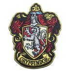 Yahoo!Lange Staarten玩具 Harry Potter コスプレ Harry Potter GRYFFINDOR US robe Costume Enbroidered Patch 正規輸入品