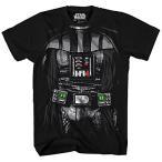 Yahoo!Lange Staarten玩具 Star Wars コスプレ Star Wars Big Boys' Darth Vader Costume T-Shirt 正規輸入品