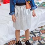 ショッピング子供服 韓国子供服 女の子 通販 スカート ウエストゴム キラキラ おしゃれ キッズ 可愛い 子ども服 お出かけ 30代 40代 ママ 女性 レディース