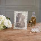 フォトフレーム レース 写真立て 結婚祝い