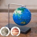 地球儀 フローティング地球儀 月球義 木星儀 Fun Science 宇宙 卓上 子供 教材 置物 月 地球 木星 ジュピター おしゃれ シンプル ギフト