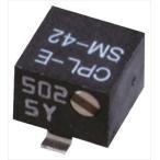 日本電産コパル電子 半固定抵抗器 10kΩ 0.25W SM-42B 10k Ohm