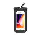 防水ケース iphone 海 スマホ 携帯電話 カバー ケース 6.5インチ以下全機種対応 紋認証/Face ID認証対応 カバー