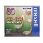 maxell CDRWA80MQ.1TP 音楽用 CD-RW 80分 1枚 10mmケース入 CDRWA80MQ1TP マクセル
