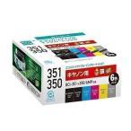 ecorica ECI-C351-6P エコリカ リサイクルインクカートリッジ 6色セット 互換インク ECIC3516P ( CANON キヤノン BCI-351+350/6MP )