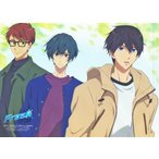 Free! -Dive to the Future- A4クリアファイル 遠野日和&桐嶋郁弥&七瀬遙 【PASH! 2018年10月号付録】