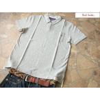 ポールスミス 刺繍入りポロシャツ グレー LLサイズ