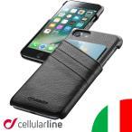 iPhone7ケース iphone6s ケース カバー iPhone7 iphone6 財布 メンズ おしゃれ ブランド レザーケース カードケース セルラーライン Cellularline POCKET