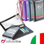 iphone7 ケース 財布 スマホケース iphone6 GALAXY 手帳型 全機種対応 ブランド 携帯ケース 財布 iPhone6s スマートフォンケース Cellularline TOUCH WALLET