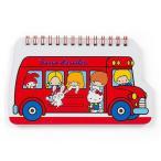 サンリオ キャラクターズ バス型スパイラルノート (70'sバス)669610-4