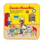 サンリオ キャラクターズ プチタオル (70sお部屋)670642-3