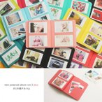 2NUL チェキアルバム mini polaroid album ver.3 plus for INSTAX MINI