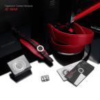 ショッピングストラップ GARIZ/ゲリズ Italian Leather with Alcantara カメラネックストラップ+カメラグリップ+専用プレートセット AT-NFAR レッド