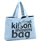 ショッピングkitson KITSON キットソンソン ショッピングバッグ トートバック エコバッグ キャンバス KHB0141