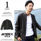 AVIREX アビレックス 06161065 シープスキン シングル ライダース