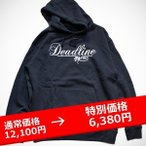 ★DEADLINEデッドライン×SSUR コラボ Script Logo PulloverNAVY ネイビー