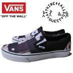 VANS CLASSIC SLIP-ON (ATCQ) BLACK バンズ クラシック スリッポン スニーカー A Tribe Called Quest ア・トライブ・コールド・クエスト