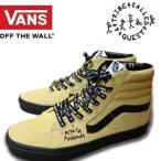 VANS バンズ SK8-HI (ATCQ) MELLOW YELLOW/SPECTRA YELLOW A Tribe Called Quest ア・トライブ・コールド・クエスト スケートハイ スニーカー