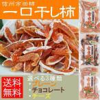 市田柿 ひとくち干柿 45g 3個セット プレーン チョコ チーズ