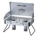ユニフレーム(UNIFLAME) ツインバーナー US-1900 610305 キャンプ用品 コンロ (Men's、Lady's)