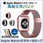 高級ミラネーゼの素材!Apple Watch 38mm /42mm 時計バンド 簡単装着 2in1 アップルウォッチ バンド ミラネーゼループベルト  ステンレス留め金製