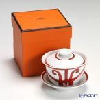 エルメス ガダルキヴィール コレクション アジアティック ティーカップ(ふた、ソーサー付) 130ml