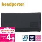 ヘッドポーター 財布 長財布 メンズ BLACK BEAUTY WALLET (L) ブラックビューティ ブラック HP-3184 ハロウィンセール