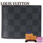 ショッピングVUITTON ルイヴィトン 新品 LOUIS VUITTON 財布 二つ折り財布 ポルトフォイユ・アメリゴ NM ダミエ・グラフィット N60053 ブランド