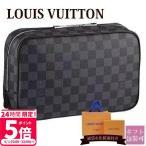 ルイヴィトン LOUIS VUITTON バッグ メンズ トラベルポーチ トゥルース・トワレ GM ダミエ・グラフィット N47521