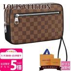 ショッピングVUITTON ルイヴィトン LOUIS VUITTON バッグ メンズ セカンドバッグ ポシェット・カサイ ダミエ・キャンバス N41663