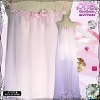 ネグリジェ 2重 シースルー 大きい ロング ナイトドレス 日本製 通販