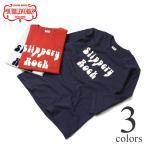 ショッピングダブル ダブルワークス Tシャツ DUBBLEWORKS 7分袖プリントTシャツ 53002 SLIPPERY ROCK