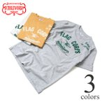 ショッピングダブル ダブルワークス Tシャツ DUBBLEWORKS 34002 ポケット付きプリントTシャツ FLAG CORPS