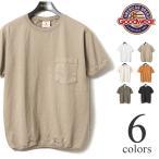 グッドウェア GOODWEAR クルーネックリブ付きポケットTシャツ