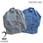 INDIVIDUALIZED SHIRTS インディビジュアライズドシャツ チェックシャツ IS2121181 アメカジ ミリタリー 長袖 メンズ