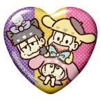 【一松&十四松&トド松】 おそ松さん×Sanrio Characters トレーディング缶バッジ Vol.2
