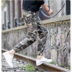 迷彩 ジーンズ 大きいサイズ  スウェットパンツ  ロングパンツ 激安 就活 パンツ  カジュアル デザイン メンズファッション ボトムス パンツ