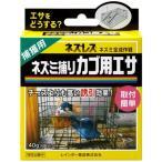誘引エサ ブロックタイプ ネズレス ネズミ捕りカゴ用エサ 40g レインボー薬品