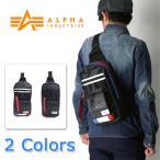 ALPHA アルファ ボディバッグ メンズ ボディ バッグ ショルダーバッグ 斜めがけ 小さめ カジュアル メッセンジャーバッグ ワンショルダー ボディバック