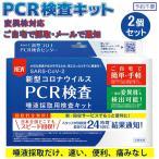 PCR検査キット コロナウイルス検査キット PCR検査 自宅で検査 セルフ検査 新型コロナ 2個セット 唾液採取用 東亜産業予約不要 痛みなし TOAMIT
