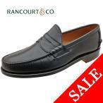Rancourt & Co. ランコート BEEFROLL PINCH LOAFER ビーフロールローファー ブラック メンズ ローファー 本革 革靴