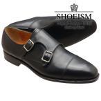 ショッピングストラップ シューズ SHOEISM シューイズム 302 ダブルモンクストラップ ブラック メンズ ビジネスシューズ 本革 革靴