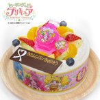 キャラデコお祝いケーキ ヒーリングっどプリキュア生クリームショートケーキ 5号 15cm 4〜6名様用 バースデーケーキ 誕生日ケーキ フルーツ