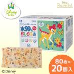 おしりふき バンビ ディズニー Disney 80枚×20 (1600枚) レック 水99% 日本製
