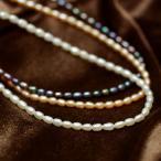 てりてり淡水真珠ベビーパールネックレス ペンダントチェーンとしても人気