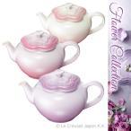 ル・クルーゼ フルール・ティーポット フラワーコレクション Flower Collection ギフト ストーンウェア 食器 ルクルーゼ LE CREUSET